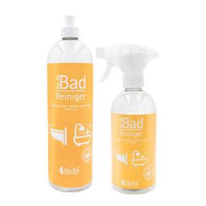 Zestaw z ekologicznym płynem oraz spryskiwaczem do mycia łazienek