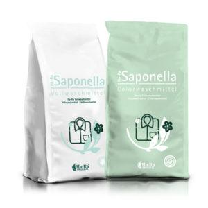 Zestaw proszków do prania Saponella Biel i Color